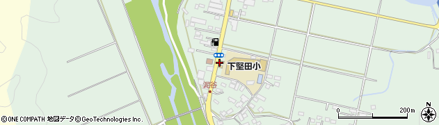 大分県佐伯市堅田6054周辺の地図