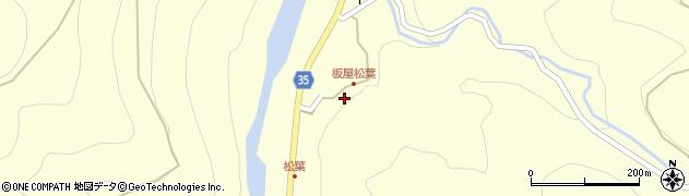 大分県佐伯市本匠大字堂ノ間1386周辺の地図