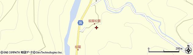 大分県佐伯市本匠大字堂ノ間1389周辺の地図