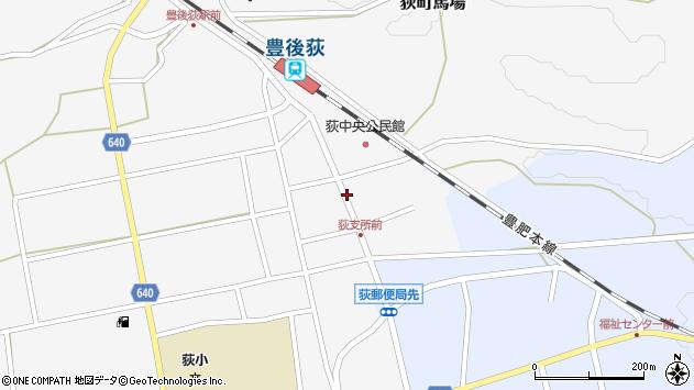 大分県竹田市荻町馬場423周辺の地図
