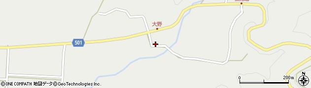 大分県佐伯市木立4859周辺の地図