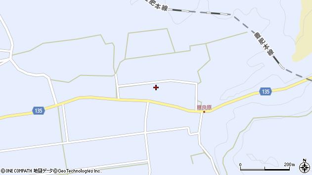 大分県竹田市荻町恵良原恵良原周辺の地図