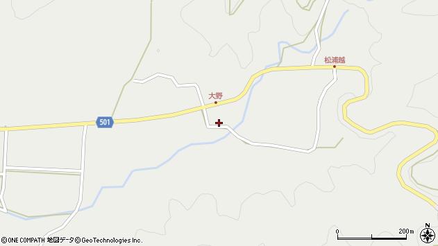 大分県佐伯市木立5182周辺の地図