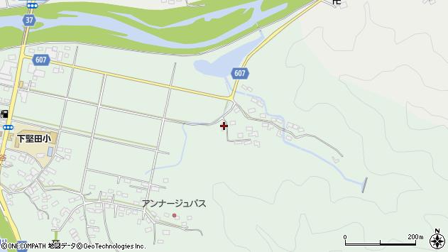 大分県佐伯市堅田6185周辺の地図