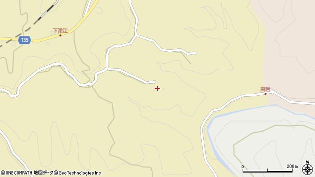 大分県竹田市荻町馬背野974周辺の地図