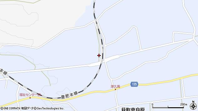 大分県竹田市荻町恵良原2674周辺の地図