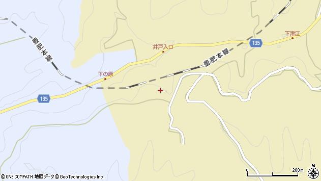 大分県竹田市荻町馬背野1469周辺の地図