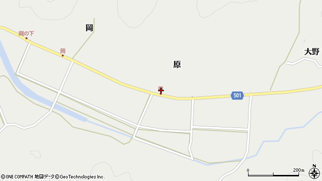 大分県佐伯市木立5632周辺の地図