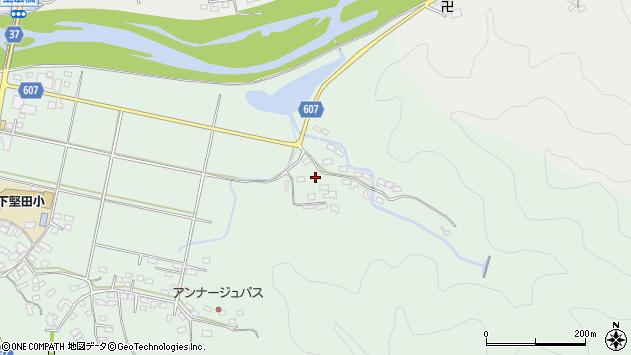 大分県佐伯市堅田6206周辺の地図