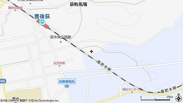 大分県竹田市荻町馬場362周辺の地図