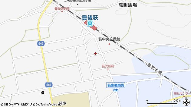 大分県竹田市荻町馬場421周辺の地図