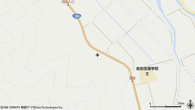 大分県佐伯市木立179周辺の地図