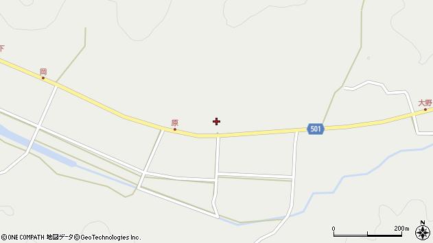 大分県佐伯市木立5555周辺の地図