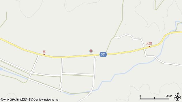 大分県佐伯市木立4979周辺の地図