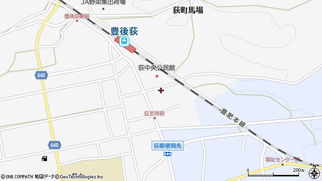 大分県竹田市荻町馬場366周辺の地図