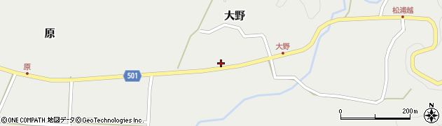大分県佐伯市木立4899周辺の地図