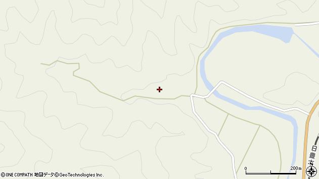 大分県佐伯市直川大字下直見1413周辺の地図