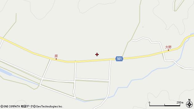大分県佐伯市木立4982周辺の地図
