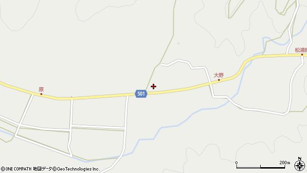 大分県佐伯市木立4910周辺の地図