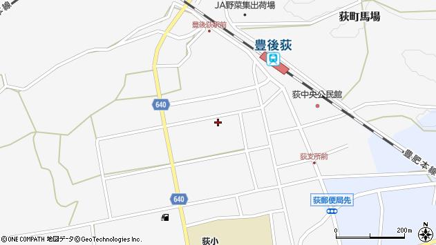 大分県竹田市荻町馬場492周辺の地図