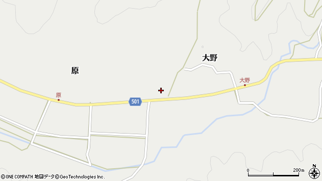 大分県佐伯市木立4692周辺の地図