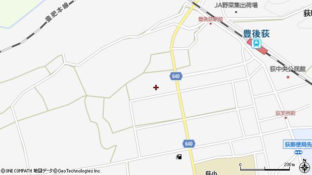 大分県竹田市荻町馬場523周辺の地図