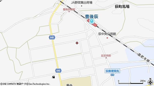 大分県竹田市荻町馬場497周辺の地図