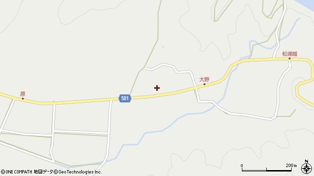 大分県佐伯市木立4901周辺の地図