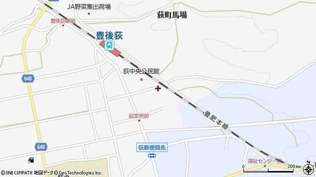 大分県竹田市荻町馬場368周辺の地図