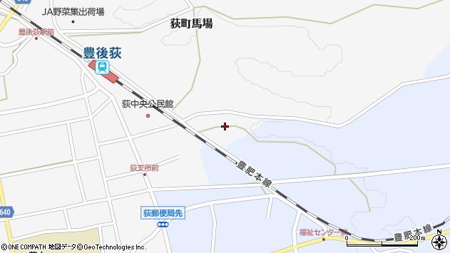 大分県竹田市荻町馬場東区周辺の地図