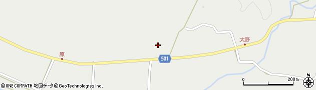 大分県佐伯市木立4936周辺の地図