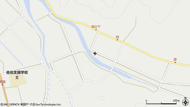 大分県佐伯市木立6004周辺の地図