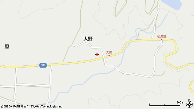 大分県佐伯市木立4887周辺の地図