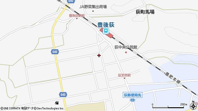 大分県竹田市荻町馬場500周辺の地図
