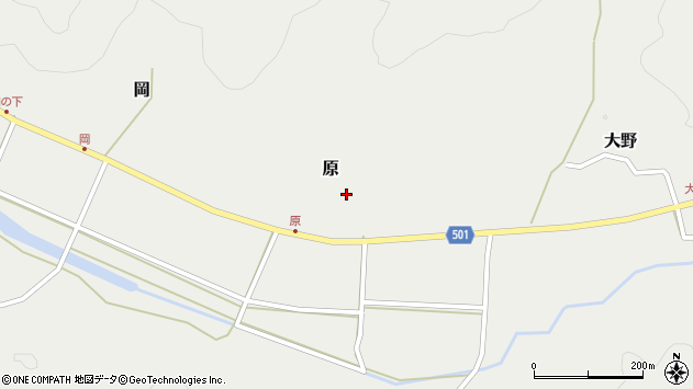 大分県佐伯市木立5618周辺の地図
