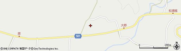 大分県佐伯市木立5007周辺の地図