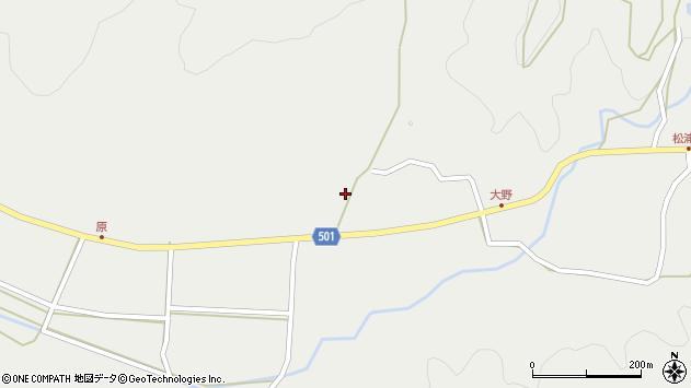 大分県佐伯市木立5000周辺の地図