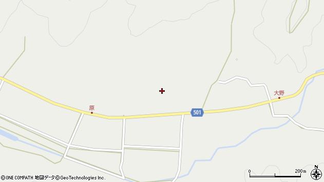 大分県佐伯市木立4986周辺の地図