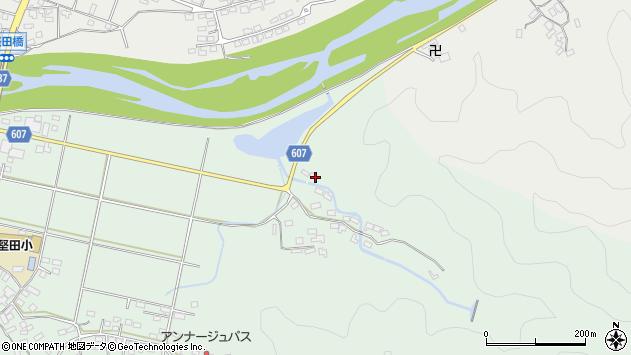 大分県佐伯市堅田6408周辺の地図