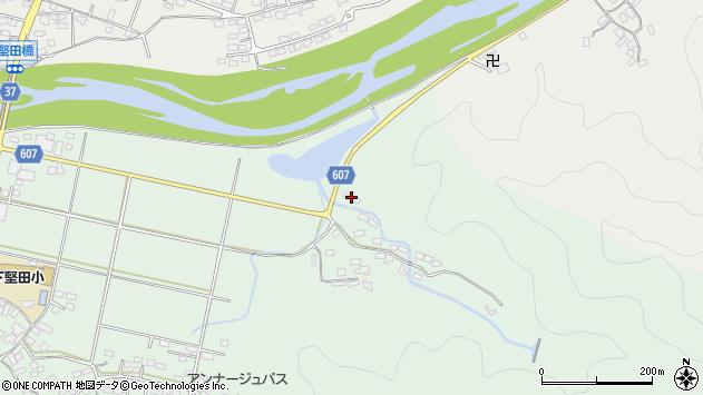 大分県佐伯市堅田6409周辺の地図