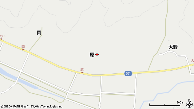 大分県佐伯市木立5614周辺の地図