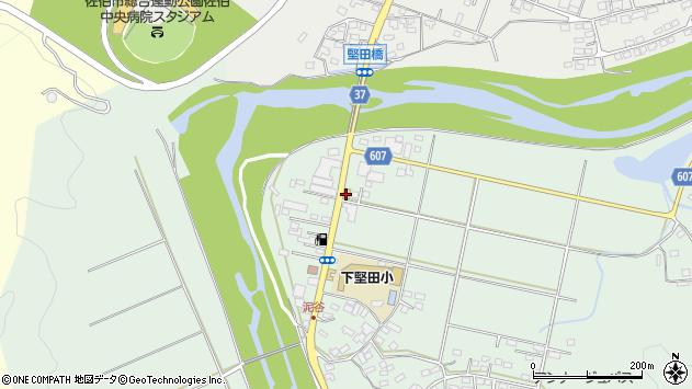 大分県佐伯市堅田5990周辺の地図