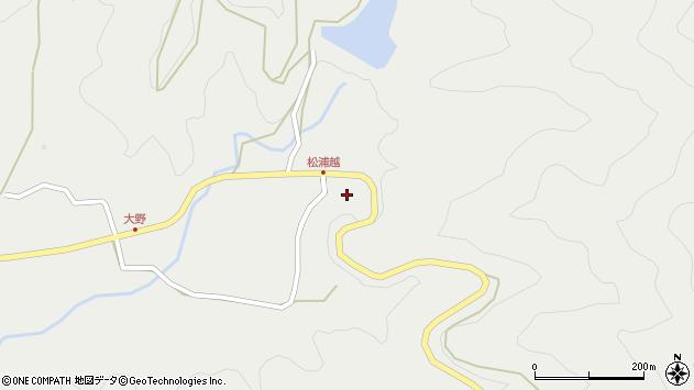 大分県佐伯市木立5264周辺の地図