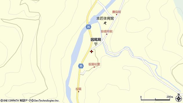 大分県佐伯市本匠大字堂ノ間1030周辺の地図