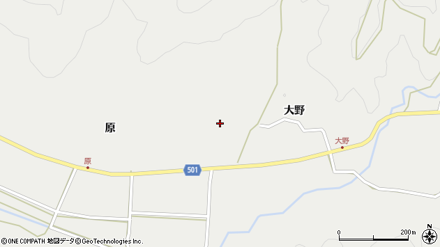 大分県佐伯市木立4961周辺の地図