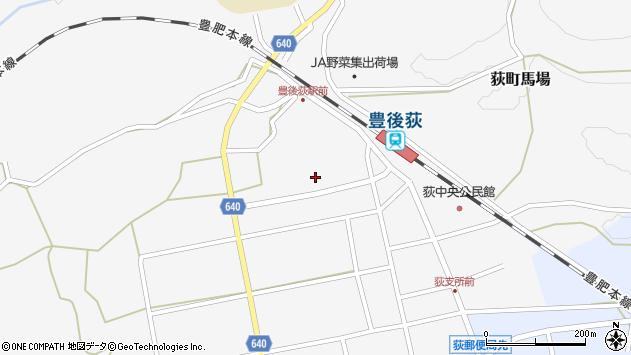 大分県竹田市荻町馬場505周辺の地図