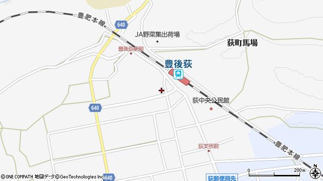 大分県竹田市荻町馬場502周辺の地図