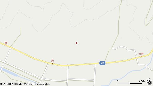 大分県佐伯市木立5003周辺の地図