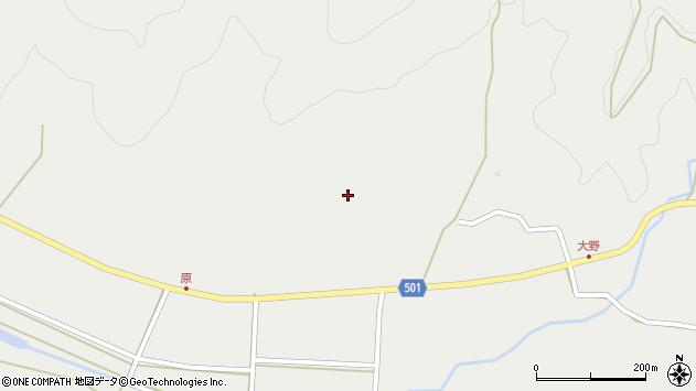 大分県佐伯市木立4994周辺の地図