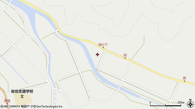 大分県佐伯市木立5991周辺の地図